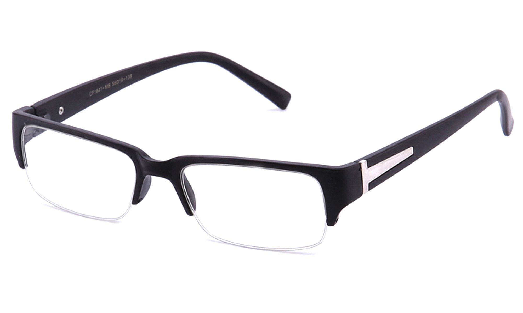 46096d491d Fashion Women. Eyewear. Moda Femenina. - Squared Design Half-Frame -  Material  Plastic - Gender  Unisex Adult -