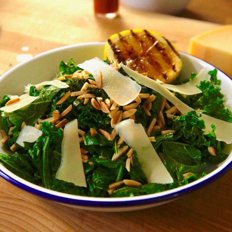Garlicky lemony kale recipe kale recipes food