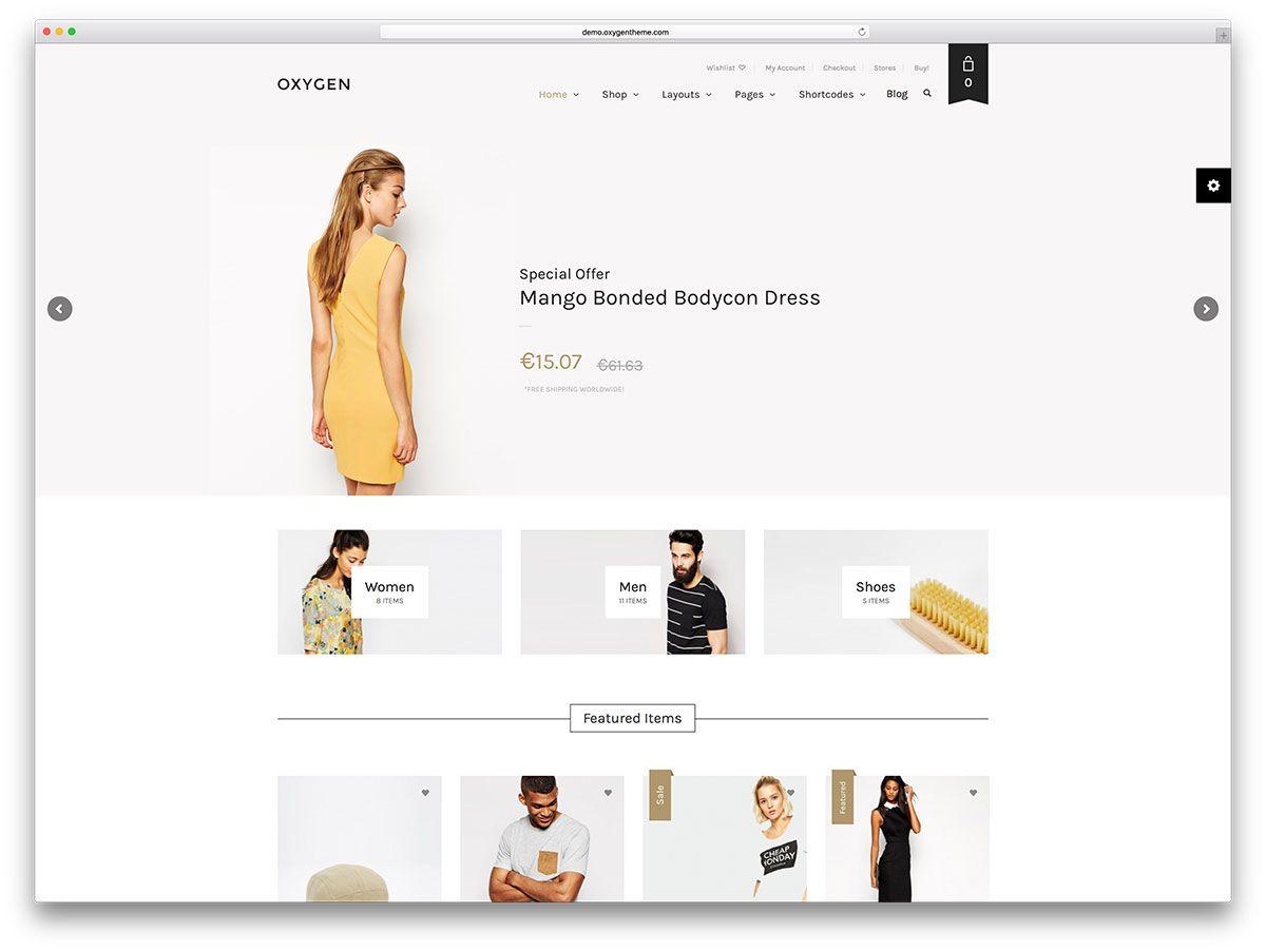 39 Best eCommerce WordPress Themes Powered by WooCommerce eStore ...