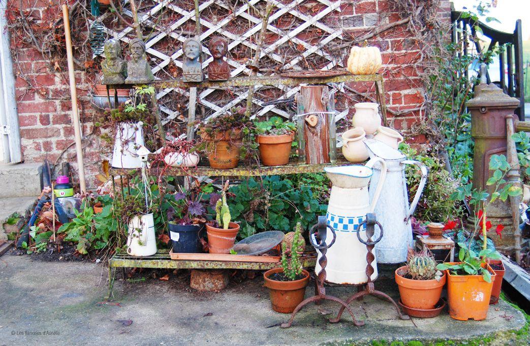 Deco Jardin Chez Sortie D Usine Morgny Zinc Garden Deco