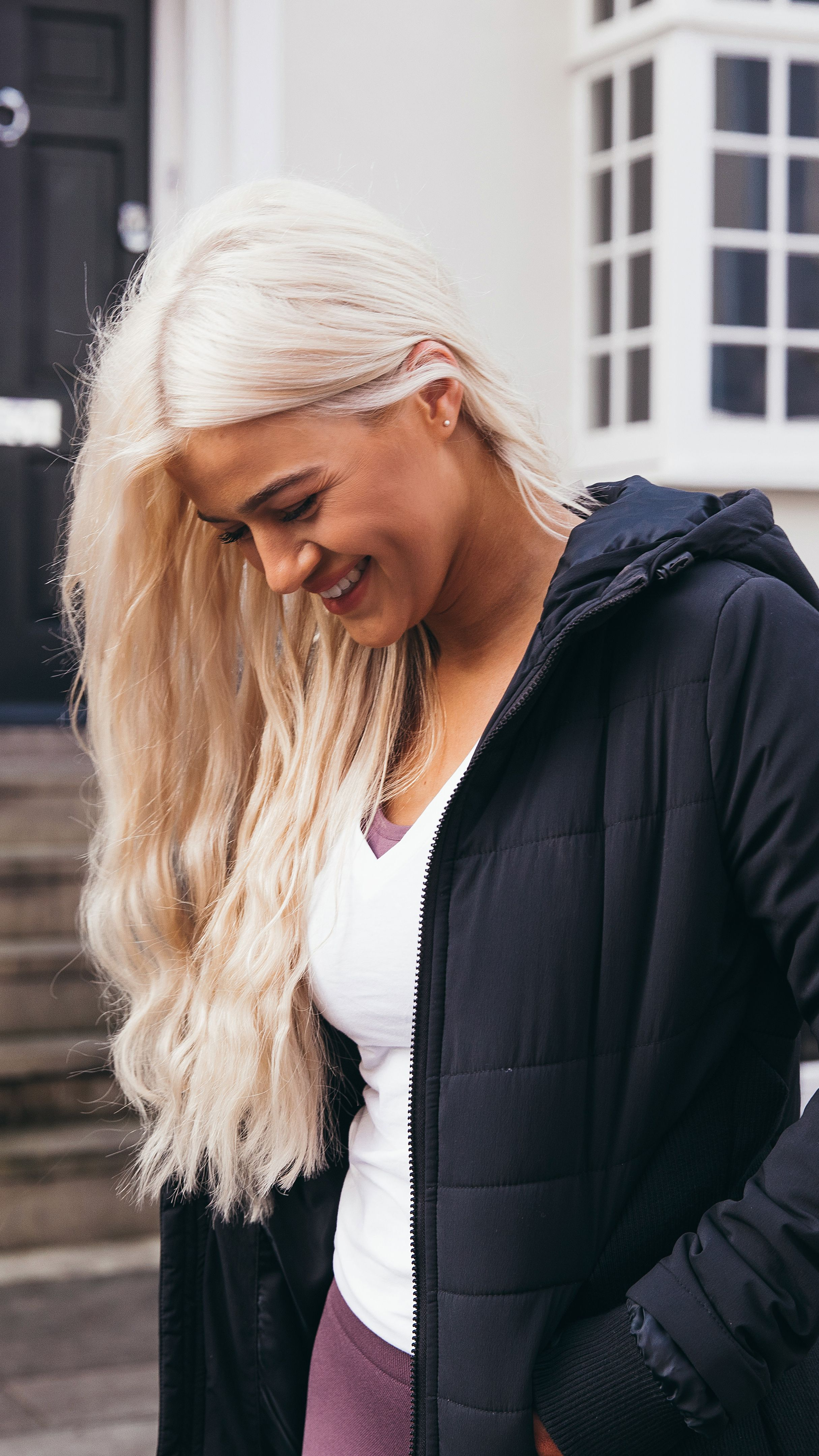 The Reflective Logo Of The Gymshark Women S Mellow Puffer Jacket Helps You Stay Visible As The Days Get Shorter Dur Puffer Jacket Black Puffer Jackets Gymshark [ 4319 x 2429 Pixel ]