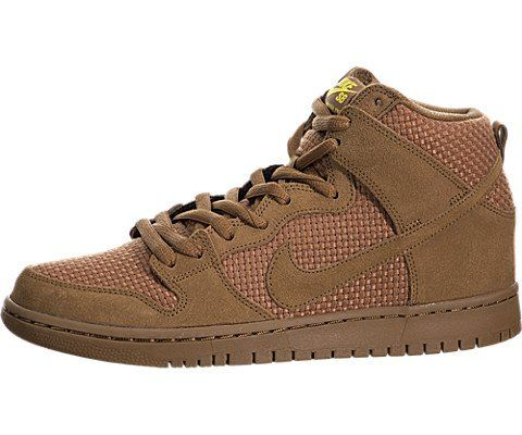 premium selection c6032 37183 Nike Mens Dunk High Premium SB Alre BrownAle BrownTr Yellow Skate Shoe 85  Men US     For more information, visit image link. This is an Amazon  Affiliate ...