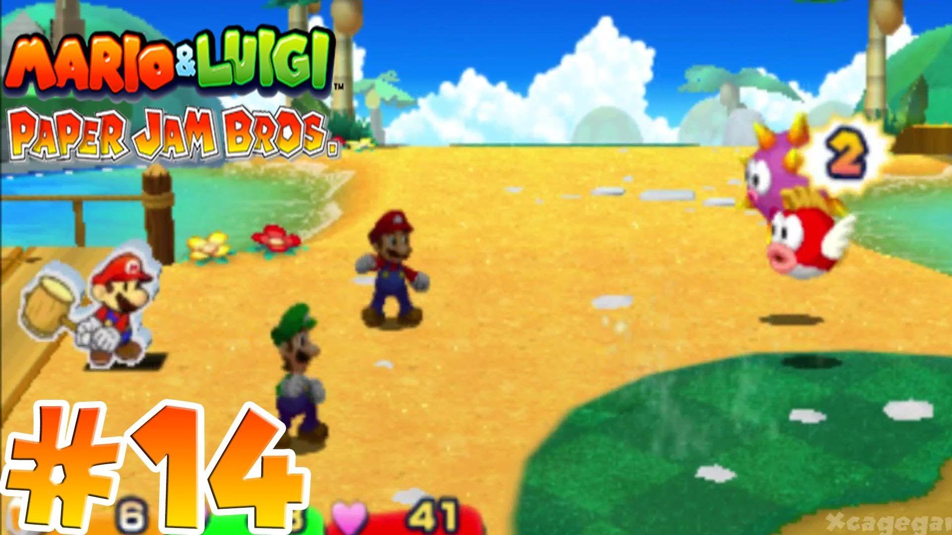Mario & Luigi Paper Jam Bros. - Gameplay Walkthrough Part 14 - [ HD ]