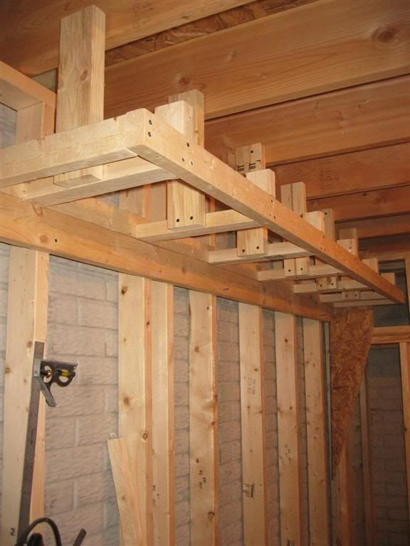 How to Frame a Tray Ceiling: 6 steps (with pictures) - wikiHow ...