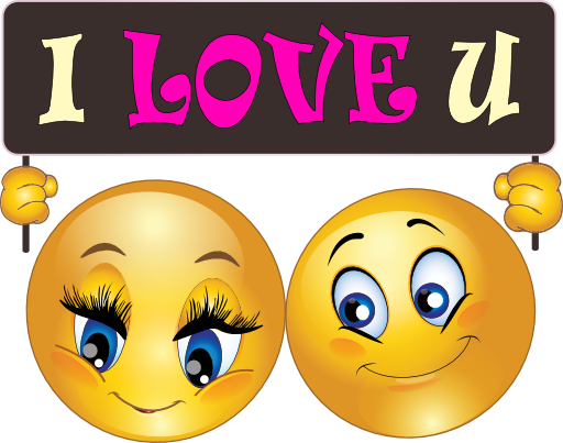 I Love You Emoticons | Love You Smiley Faces Love you couple