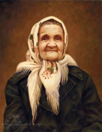 Everyone Needs A Babushka A Sweet Little Old Lady Came Out Of Her