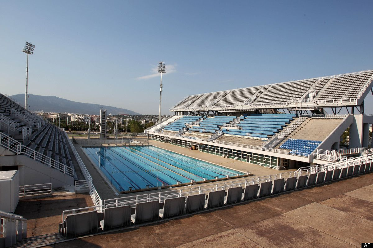 2004 Athens Olympic Venues Olympic swimming pool, at the