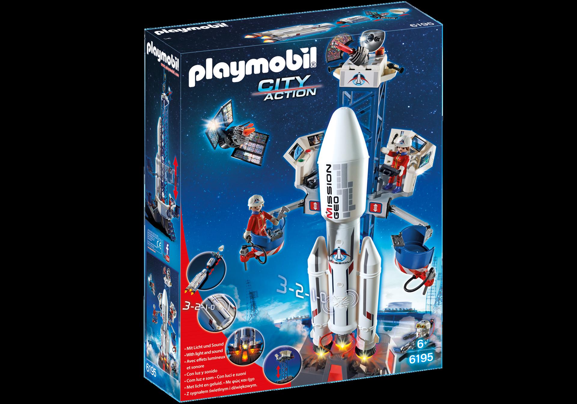 Playmobil Ausmalbilder Shopping Center : 6195 49 99 Space Rocket With Launch Site Elise Playmobil Pinterest