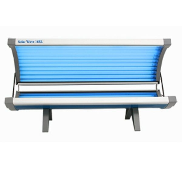Solar Wave 16 Lamp Home Tanning Bed Sauna Tanning Bed