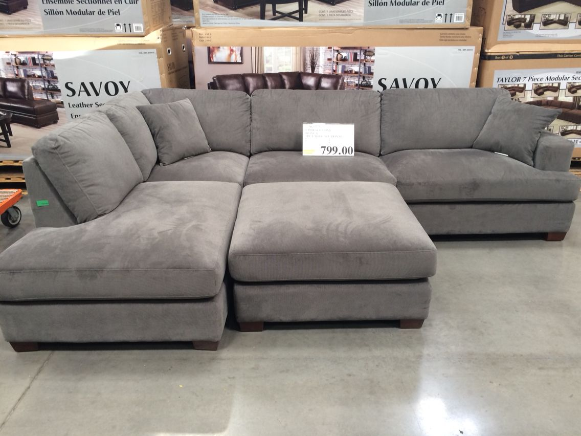 sofa costco ca big leather sectional who knew my perfect dream was only 800 at