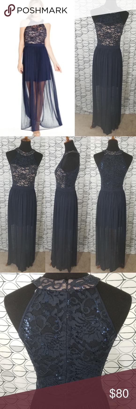 23+ Blue illusion black lace dress ideas