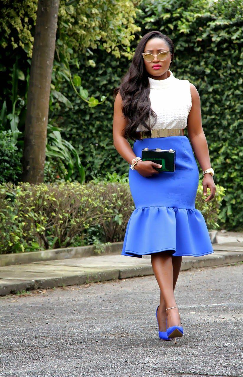 Toun 'AJ': Blues #fashionBlogger #streetstyle #womensfashion #AfricanFashionBlogger