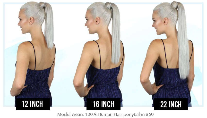 Pony Tail Clip In Hair Extensions 16 22 26 Inch 120gr With Images