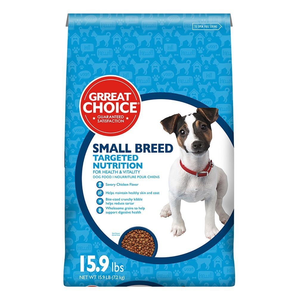 Grreat Choice Targeted Nutrition Small Breed Dog Food Chicken