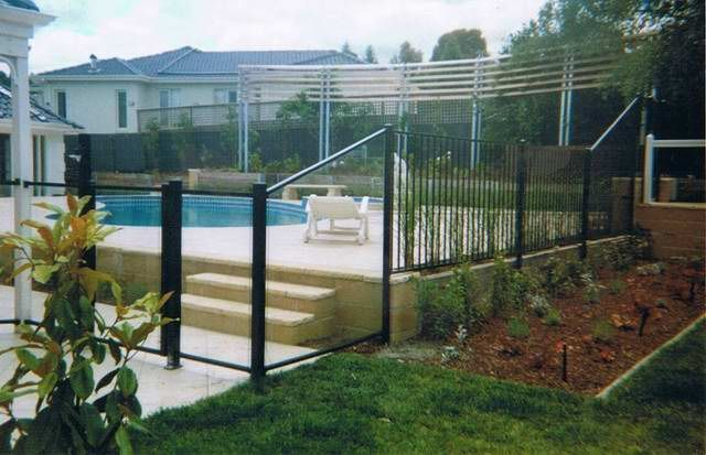 Image result for combination pool fences Camden Pinterest