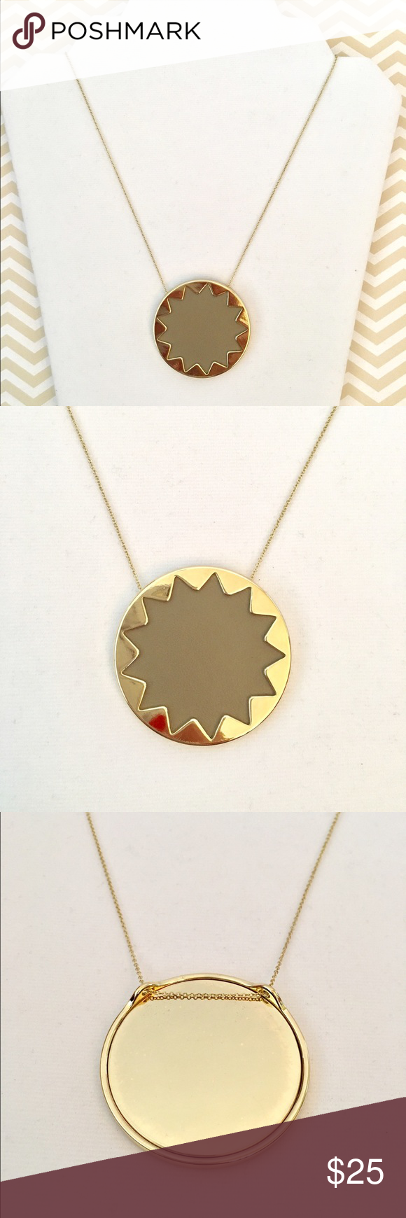 House of harlow large sunburst necklace delicate and chains