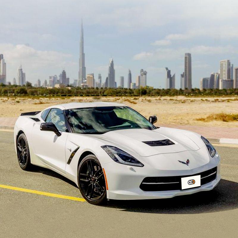 Drive The Chevrolet Corvette Grand Sport For Aed 1300 Day In Dubai Rental Cost Includes Com Corvette Grand Sport Luxury Sedan Car Insurance