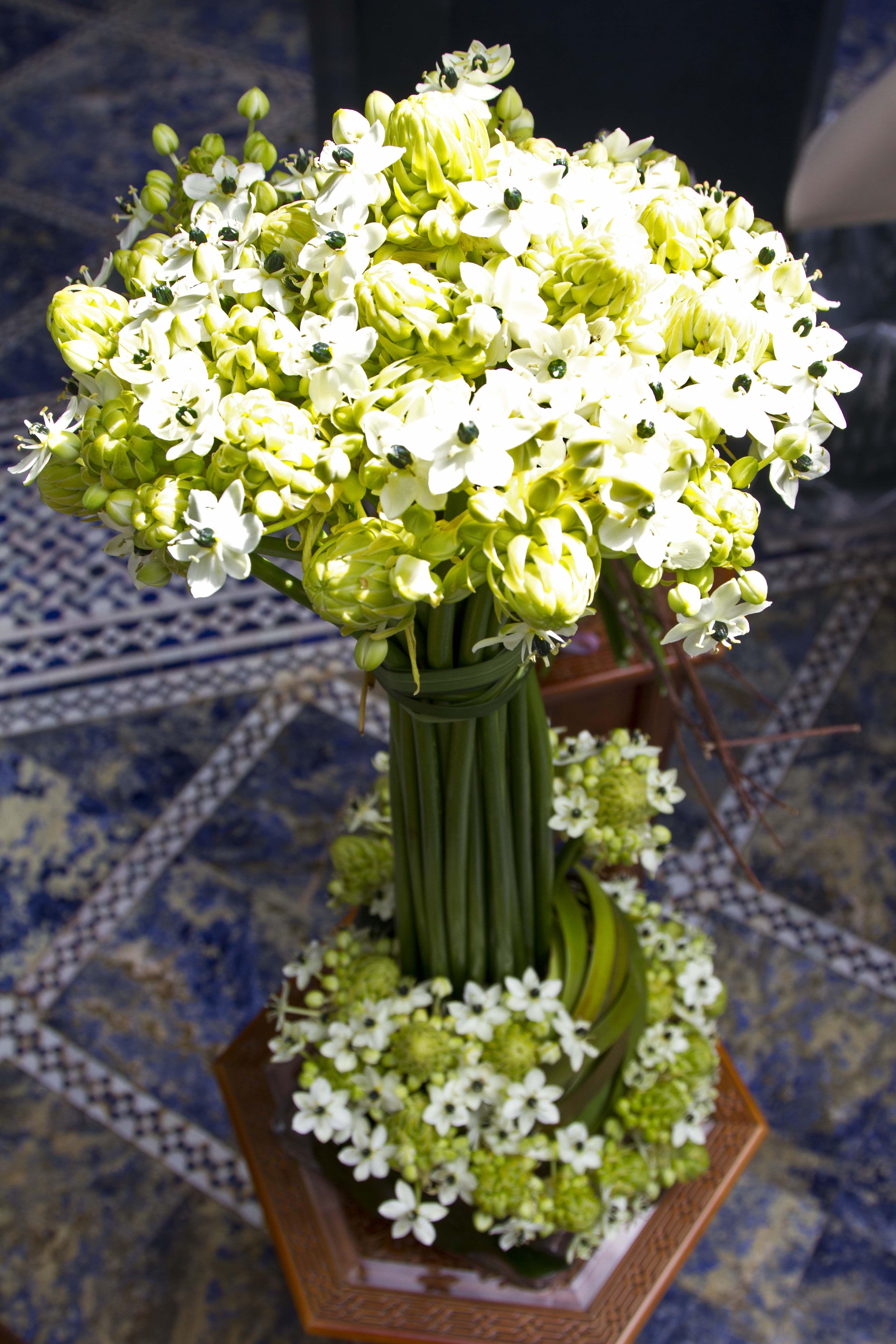 Delicate White Flower Arrangement Beautifies Every Corner
