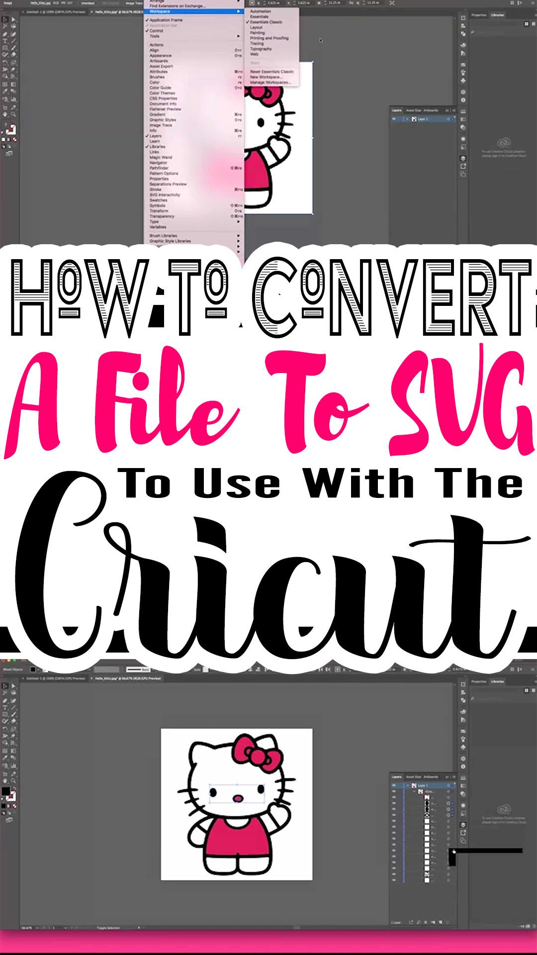 How To Convert An Image To SVG To Use With Cricut Design Space