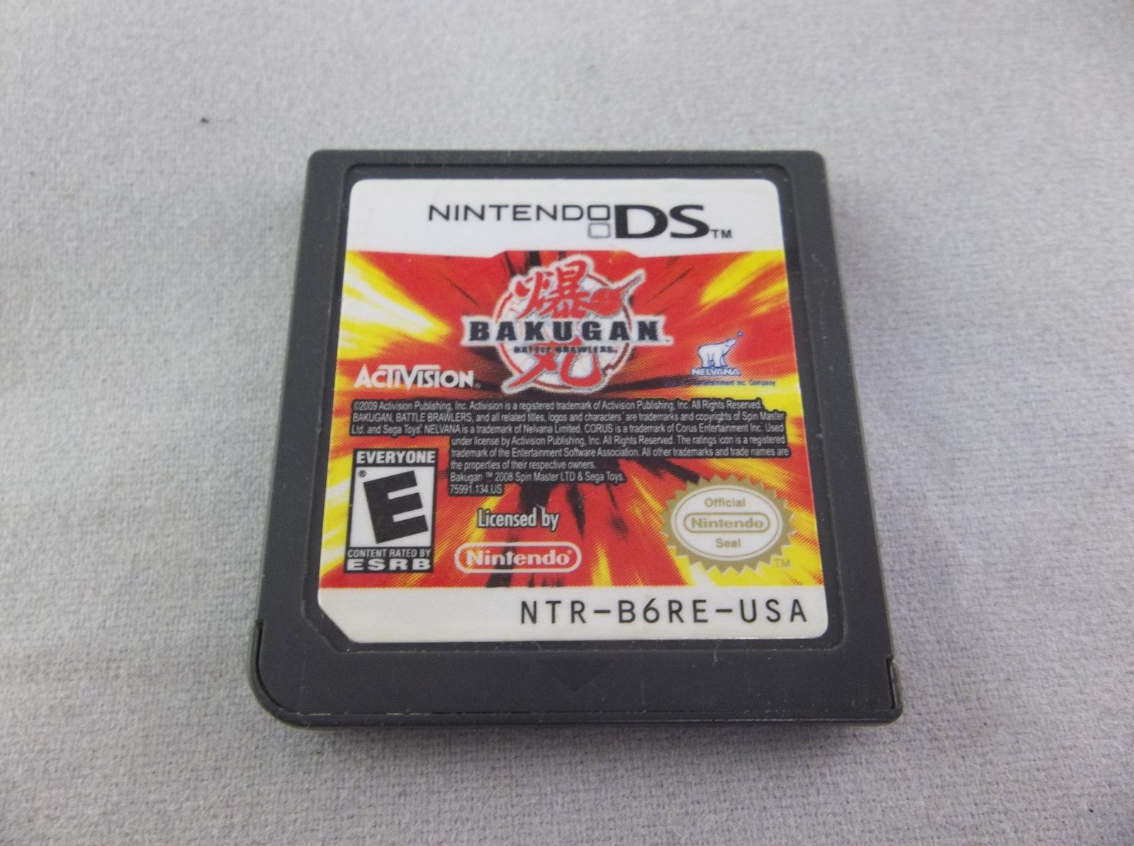 Bakugan Battle Brawlers Activision 2009 Nintendo Ds Dsl Dsi Video