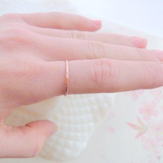 tiny copper ring