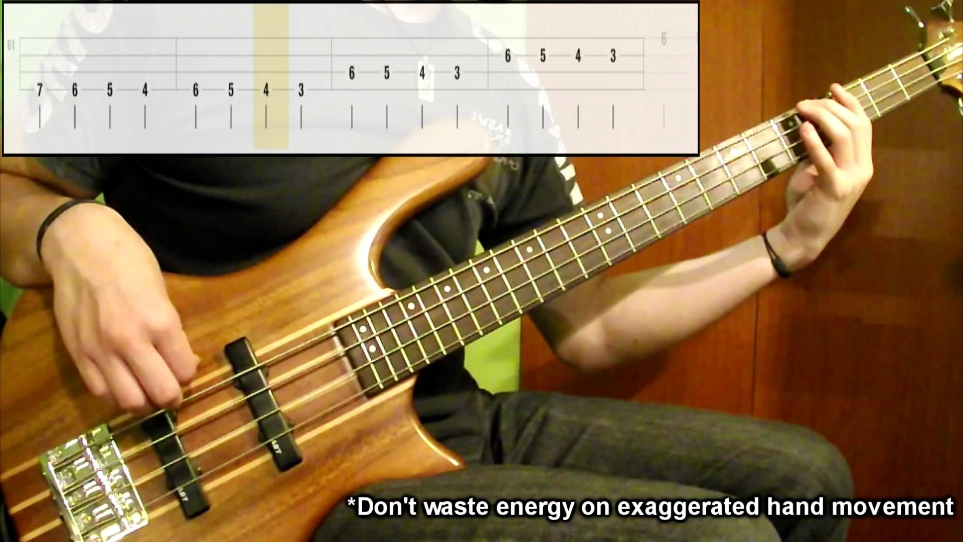 Lesson 1 Warm Up Session Lvl.1 (Bass Exercise) (Play