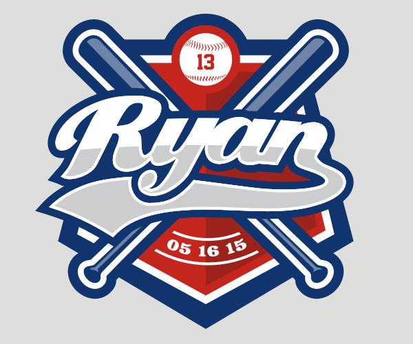 Ryan Baseball Logo Design 99designs Logo Design Diy Logo Design Corporate Logo Design Inspiration