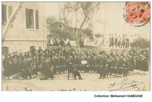 CULTURE et PATRIMOINE DE TUNISIE EN IMAGES- MOHAMED HAMDANE: MUSIQUE MILITAIRE BEYLICALE