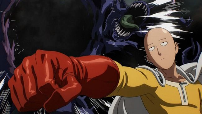 This Scene From One-Punch Man Proves Why Manga Will Always ...