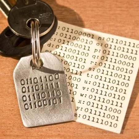 Binary Love Keyring