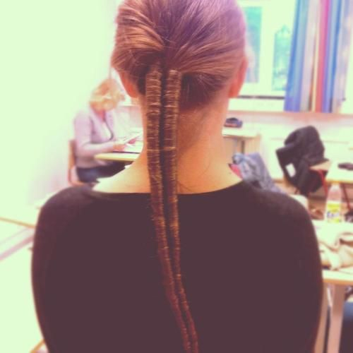 Figure 8 Braid Ponytail Not A Fishtail Although They Look A Lot