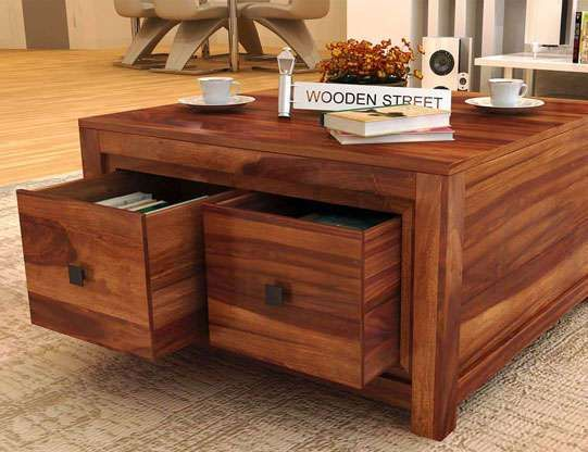 Buy Tables Online Made Up Of Solid Wood And Displaying Alluring