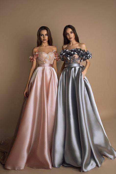 Designer Satin Silk wedding Gown