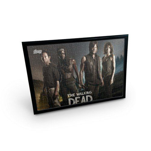 Nezy Zombie The Walking Dead 120 Piece Jigsaw Puzzle With Table