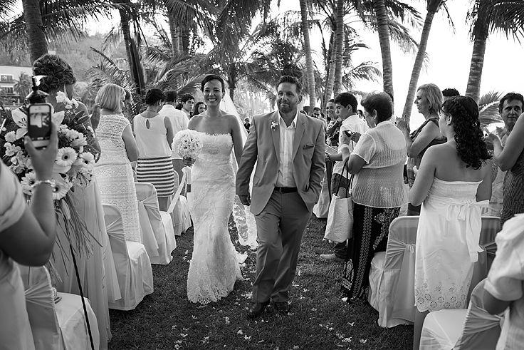Wedding Ceremony. #destinationweddings #mexicoweddings #outsideweddings #weddingphotos