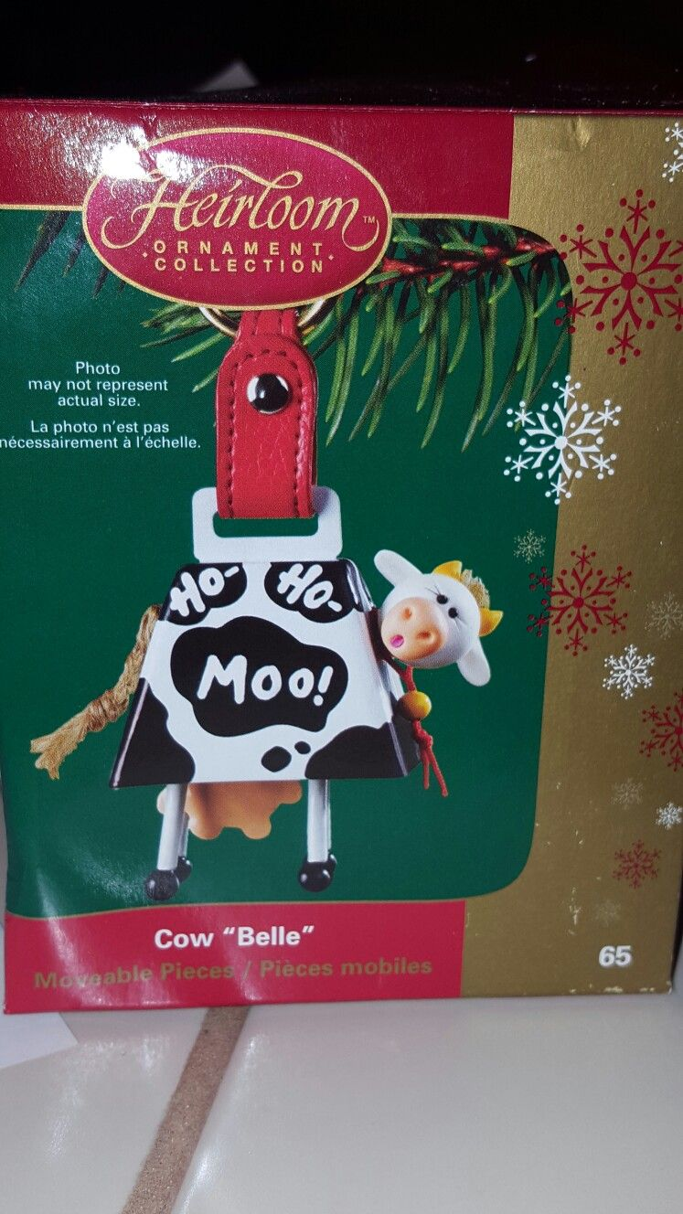 Carlton cards american greetings cow belle ornament ornaments carlton cards american greetings cow belle ornament m4hsunfo