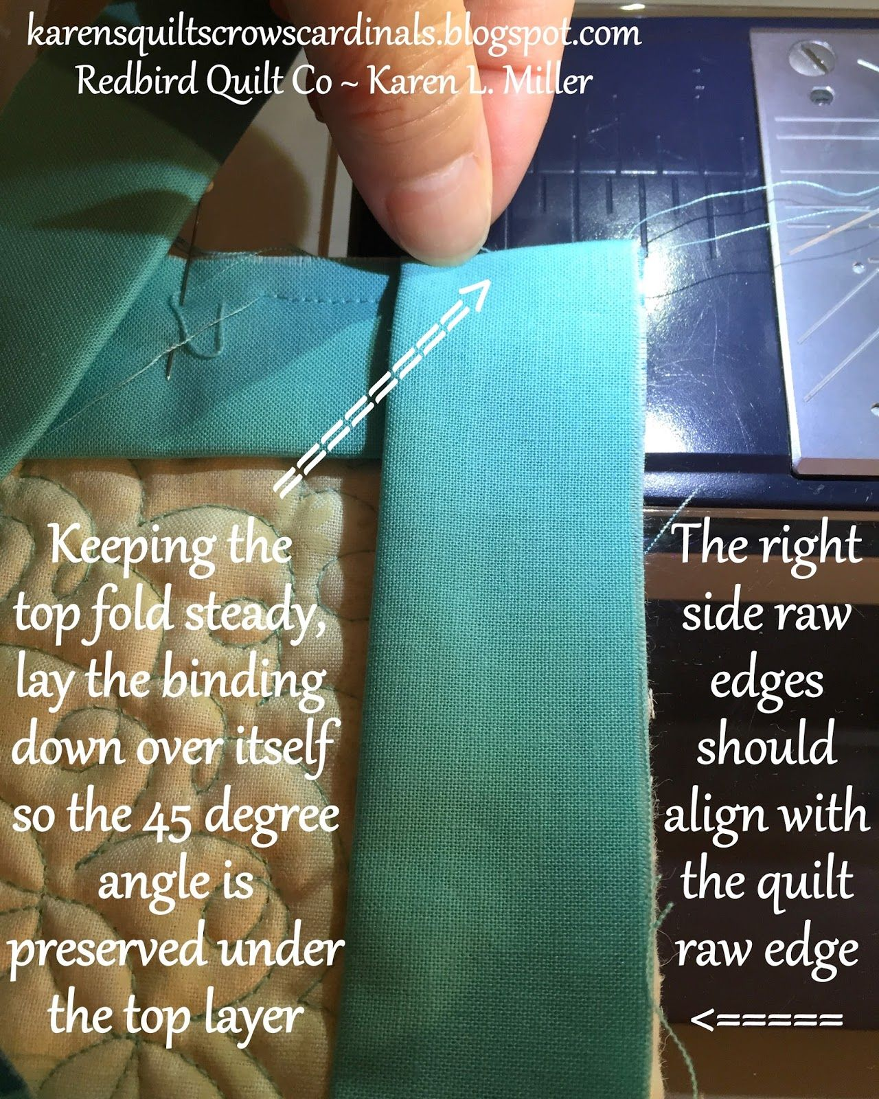 Tutorial - Mitered And Flanged Machine Binding