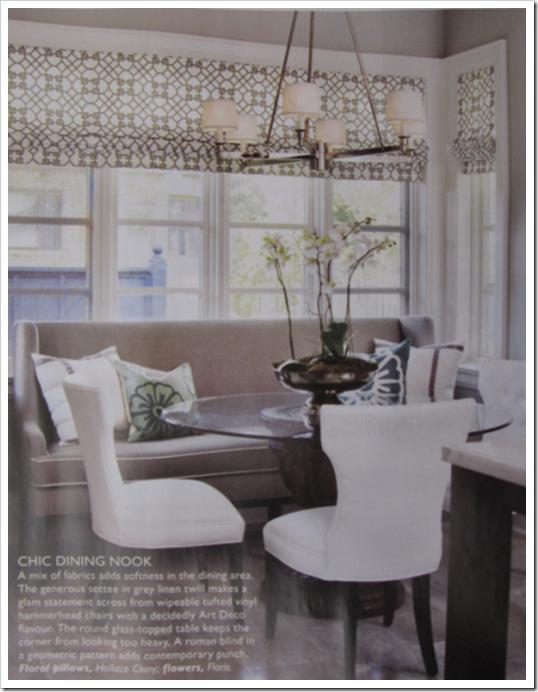 Beautiful Glamorous White Kitchen