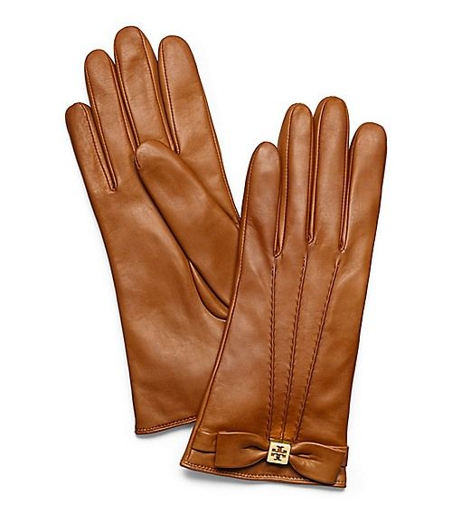 Tory Burch Bow Gloves  9586c3234e