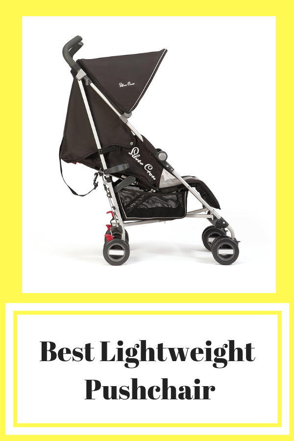 The Silver Cross Zest is ultralightweight, weighing in at