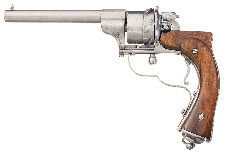 "Arme Prototype unique unidentified european prototype ""zig-zag"" style revolver"