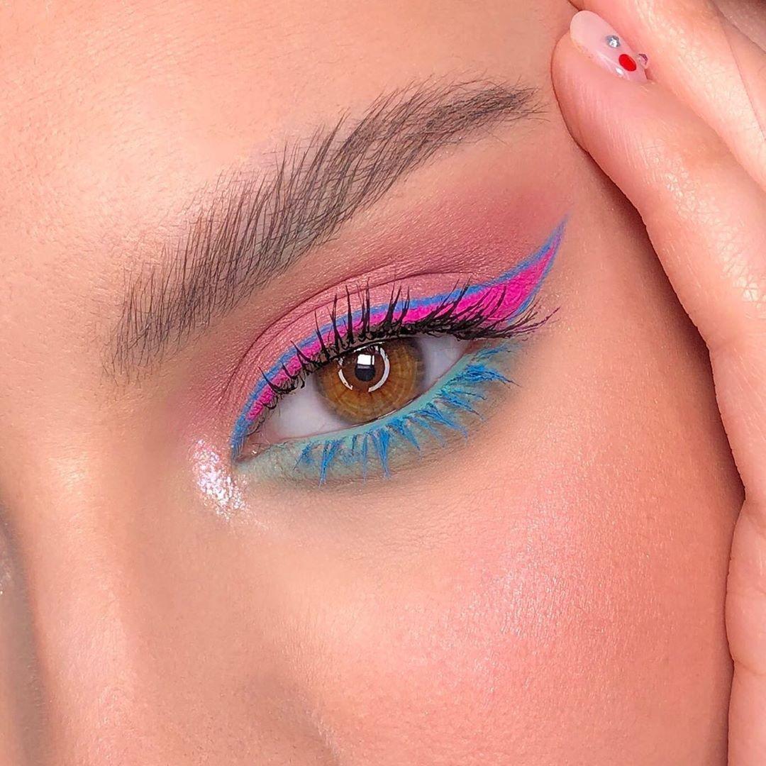 muave makeup look