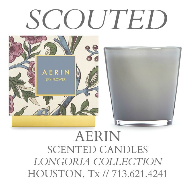 TSG Houston: Scouted - Aerin At Home Candles