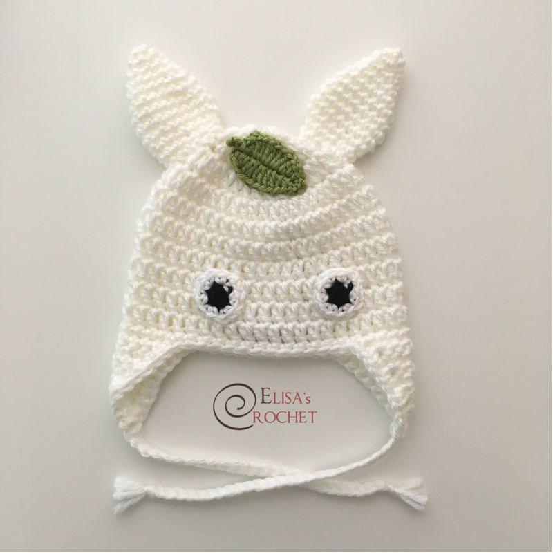Crochet Chibi Totoro Hat (newborn-child size) / Studio Ghibli / My ...