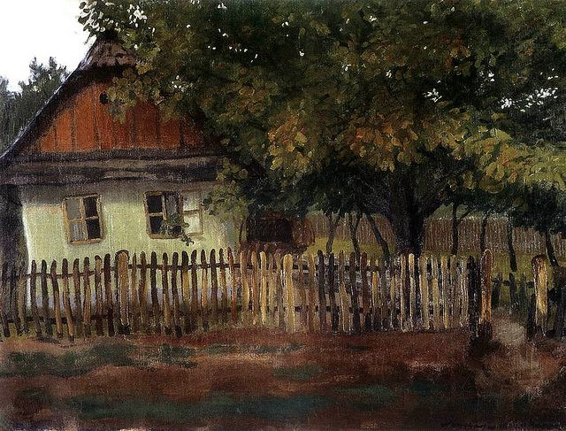 Huszar, Vilmos (1884-1960) - 1904 House at Nagybanya (Private Collection) by RasMarley, via Flickr