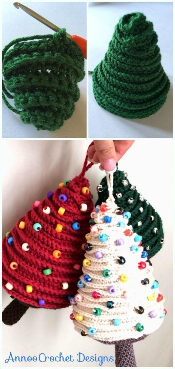 Photo of 30 DIY Crochet Christmas Ornament Kostenlose Anleitung – #DIY # Crochet # Kostenloser Versand Strickideen