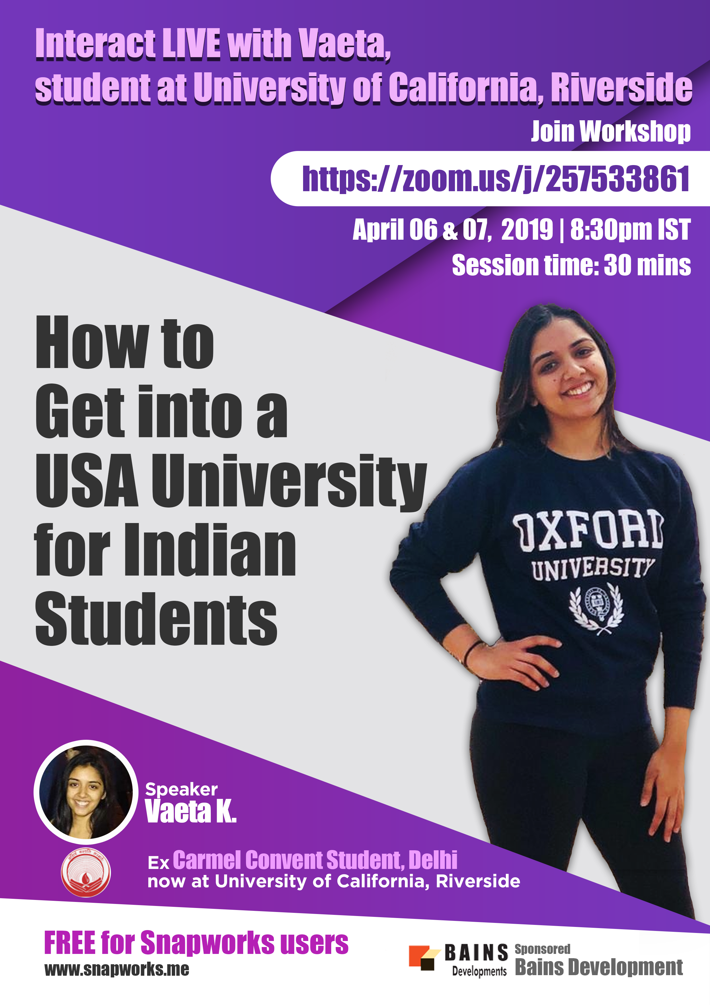How to get into a USA University for Indian Students. Join