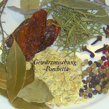 Gewurzmischung Porchetta Rezept Gewurze Gewurzmischung Gewurzmischung Selber Machen