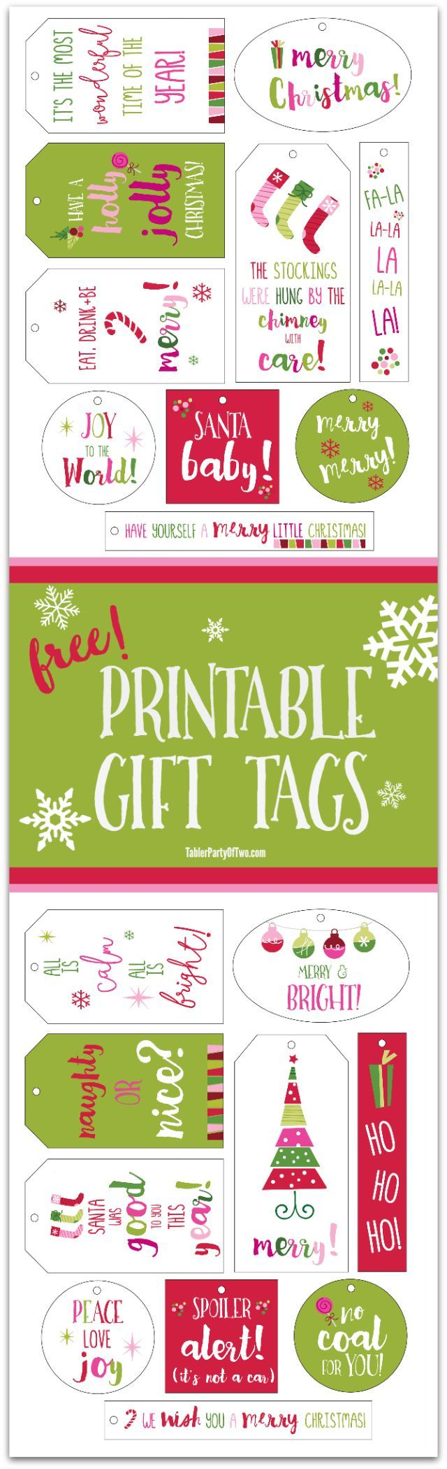 Free printable gift cards collection 2 free christmas printable gift tags for you simple print them on white card stock negle Image collections