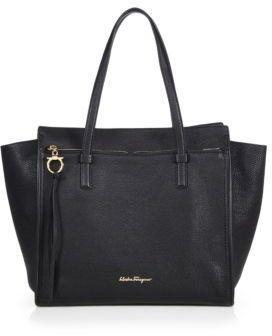 fa1f6734402 Salvatore Ferragamo Amy Convertible Leather Tote Salvatore Ferragamo,  Burberry, Gucci, Purses And Bags